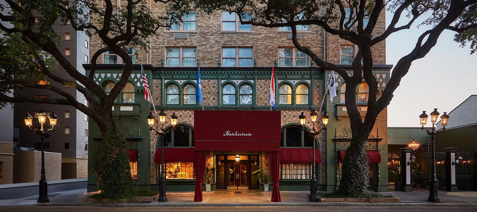The Pontchartrain Hotel Now Open Garden District Hotel